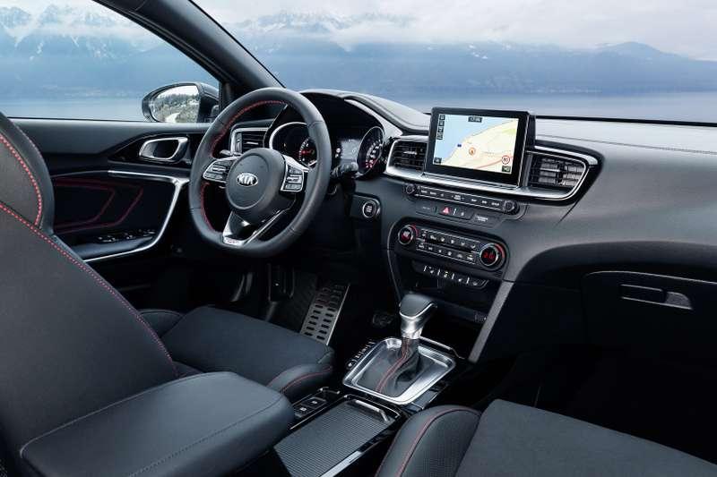 Новый ProCeed: необычная модель Kia