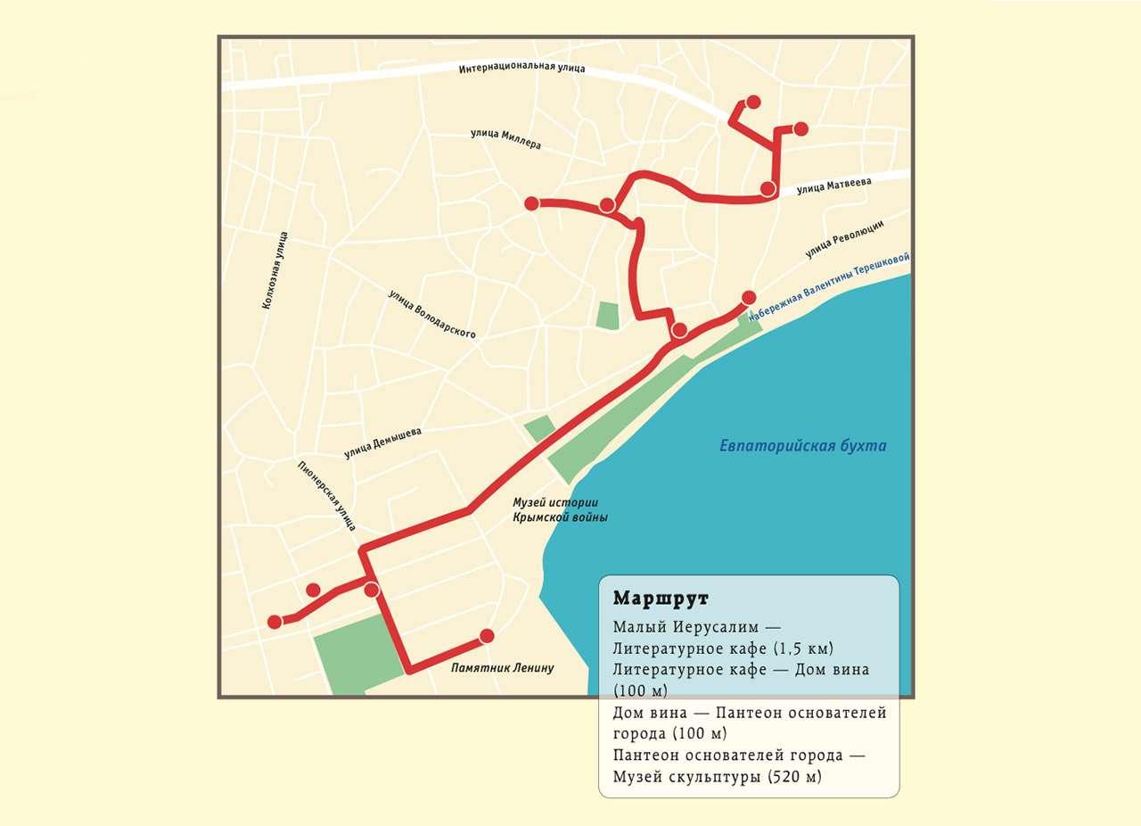 В Крым наавтомобиле: лучшие места Евпатории— фото 1144946