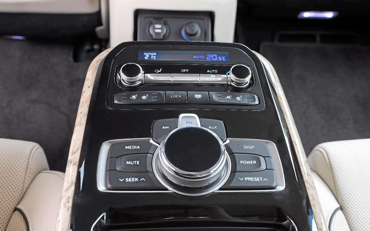 Большой тест престижных седанов: новый Lexus LS500и конкуренты— фото 928753