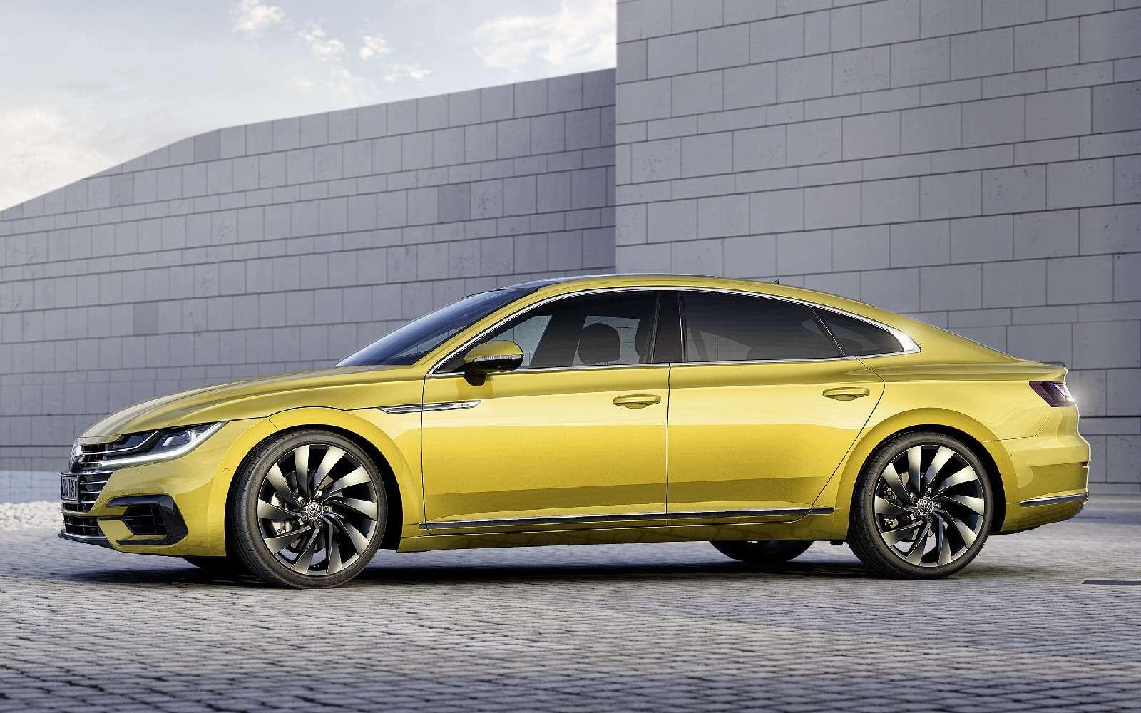 Volkswagen Arteon: это вам не Це-Це!— фото 717140