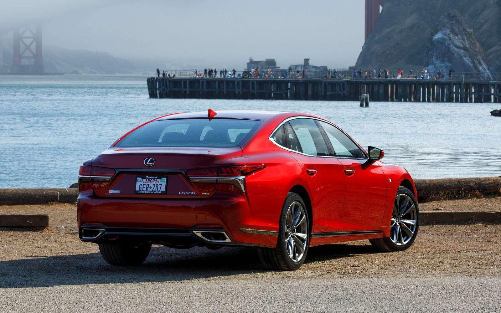 Lexus подготовил свой ответ «шестисотому»— фото 800909