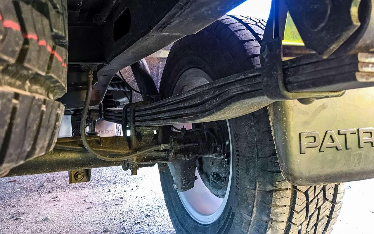 Тест обновленного УАЗа Пикап: мотор новый, косяки старые— фото 918432