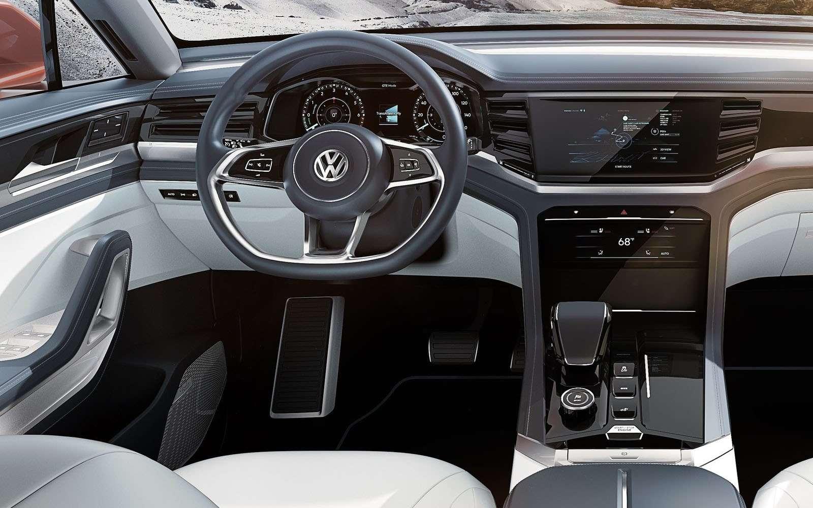 Volkswagen показал новый кроссовер. Ждем его вРоссии— фото 857627