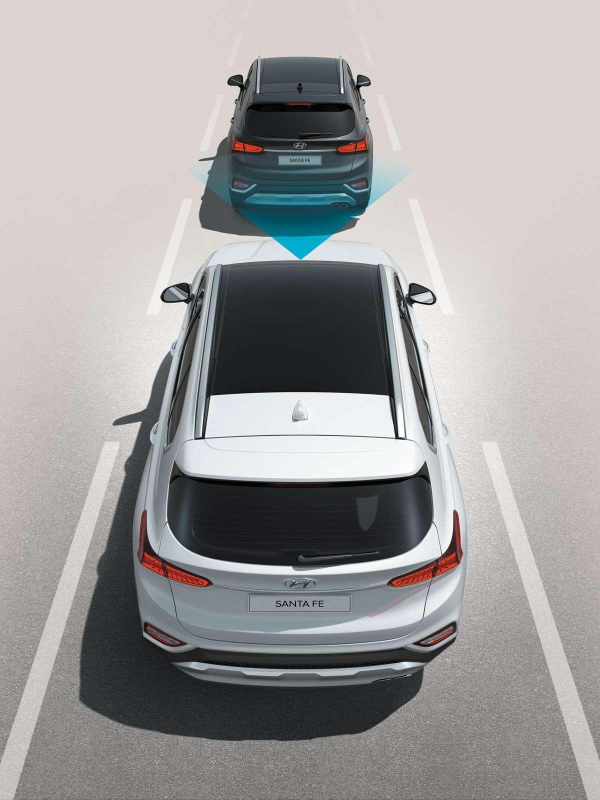 Новый Hyundai Santa Fe: российские цены икомплектации— фото 893454