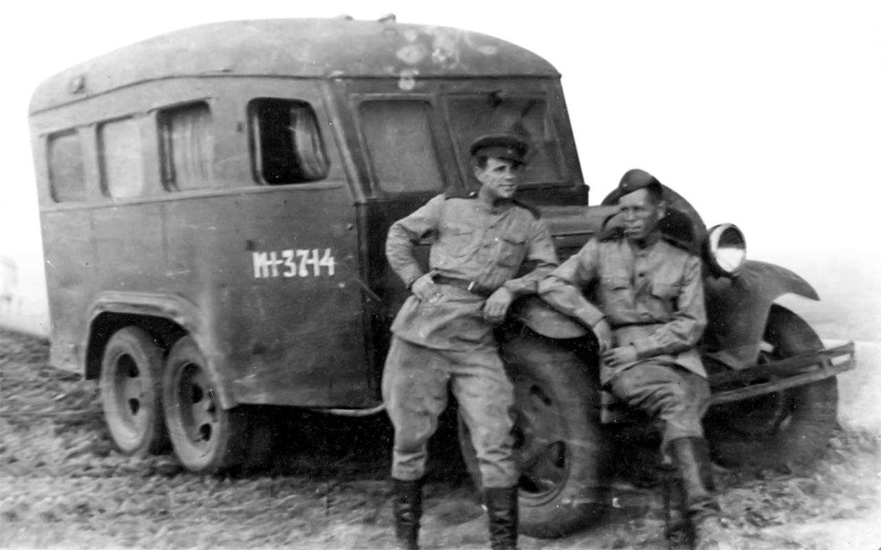 Машины Победы: ретротест настоящих фронтовых грузовиков— фото 1121583