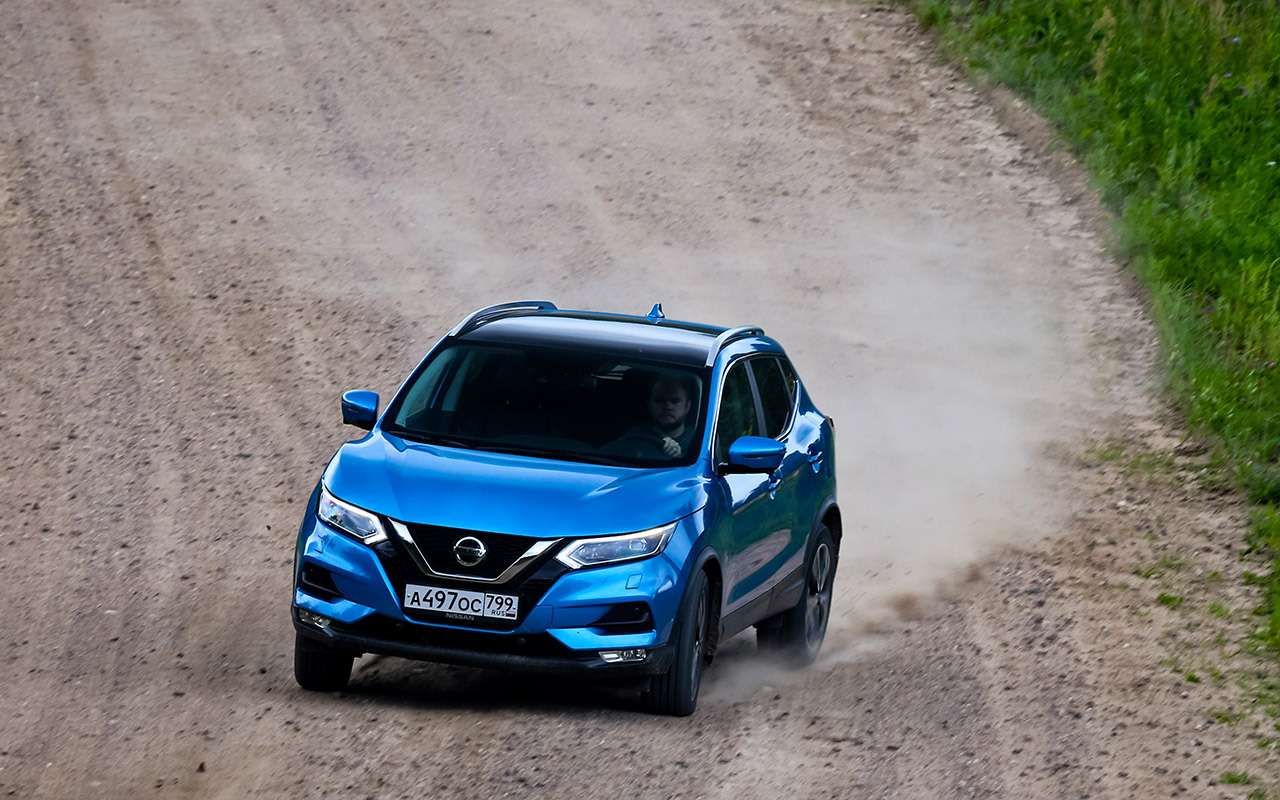 Renault Arkana, Nissan Qashqai, Kia Sportage: проверка бездорожьем иасфальтом— фото 1009923