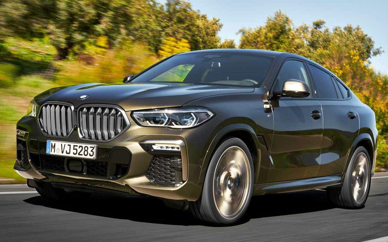 Новый BMW X6светится втемноте— фото 983969