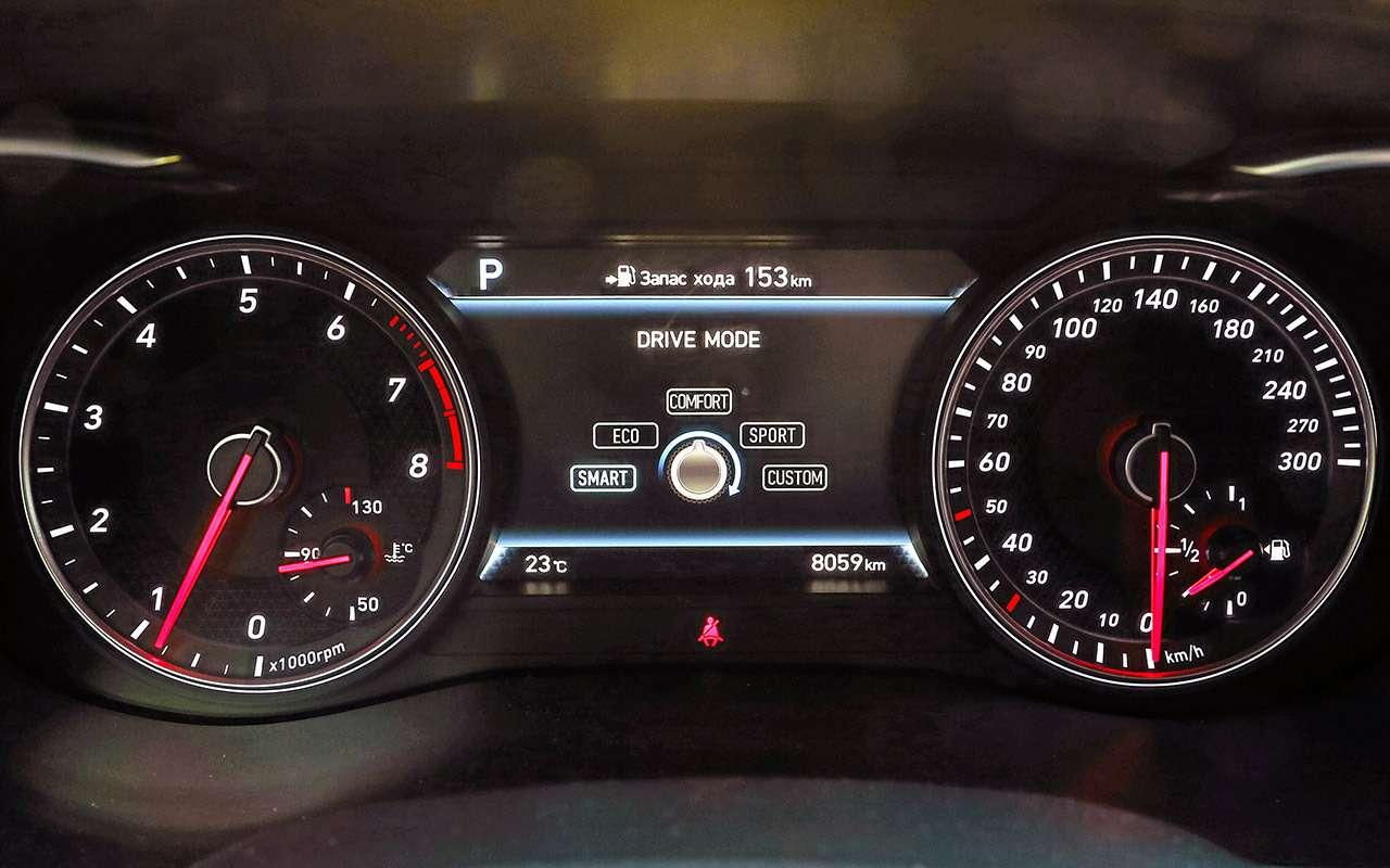 Genesis G70 против Audi A4и Jaguar XE— большой тест— фото 894690
