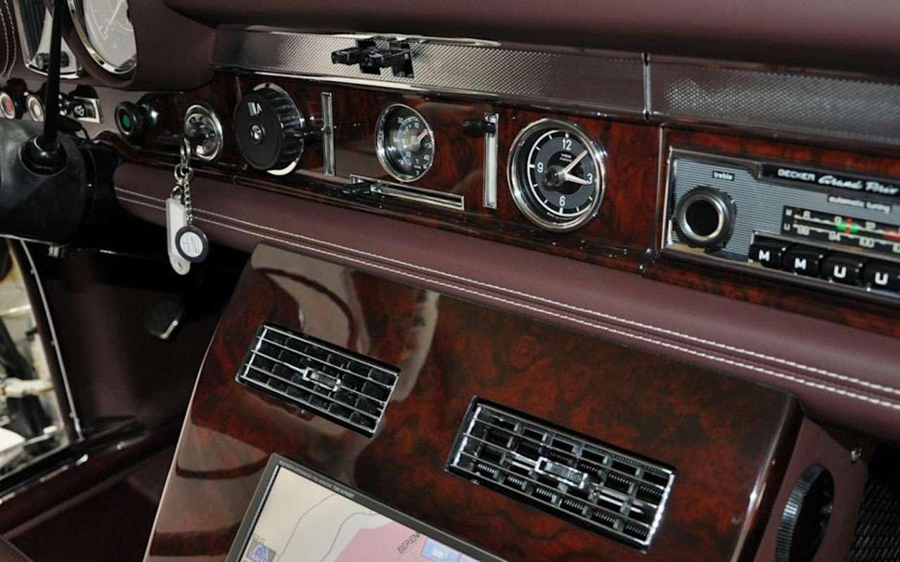 Потратили 3млн евро, продают за2: Mercedes 1975 года идет соскидкой— фото 1116236