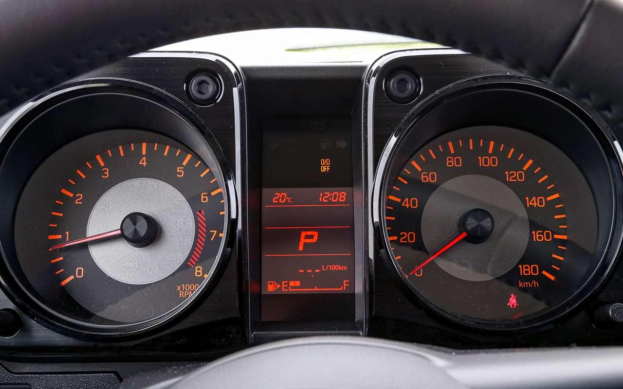 Новый Suzuki Jimny: первый тест-драйв ивидео— фото 998212