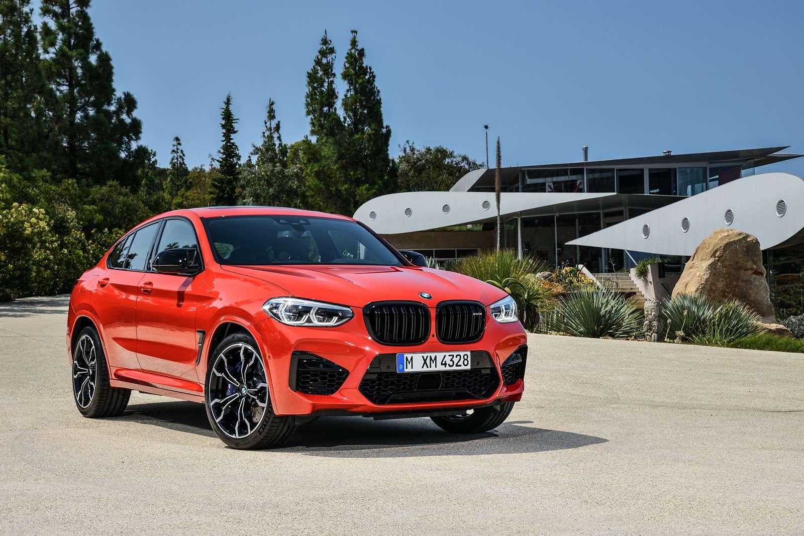 BMWрассекретила самые крутые версии кроссоверов X3и X4— фото 948707