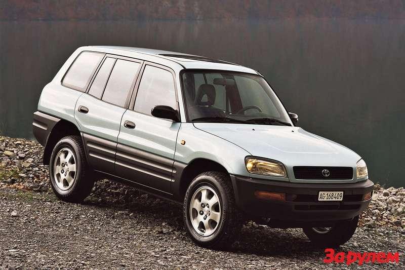 Toyota RAV4 первого поколения (длина пятидверной версии— 4,15-4,16м)