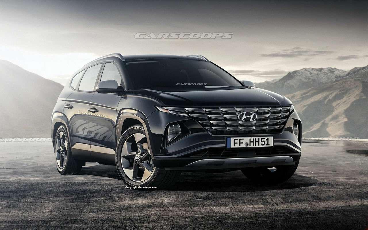 Новый Hyundai Tucson— первые подробности— фото 999689