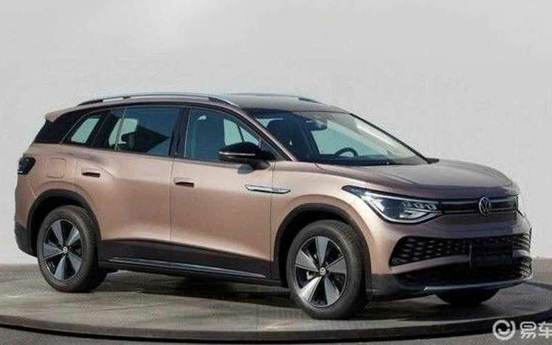 Новый кроссовер VW— утечка данных