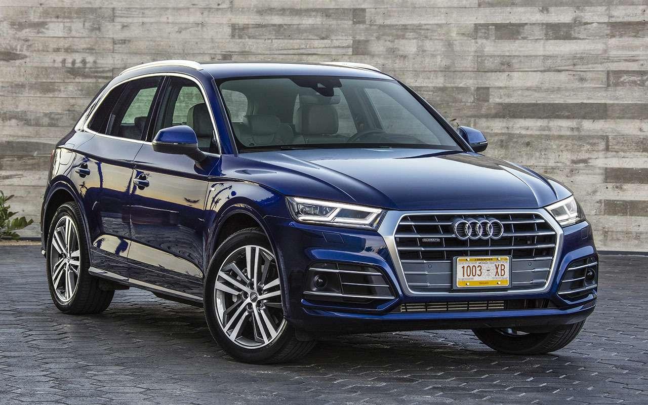 Audi отзывает Q5из-за дефекта тормозов
