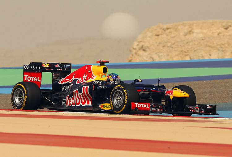 Red Bull Racing's German driver Sebastia
