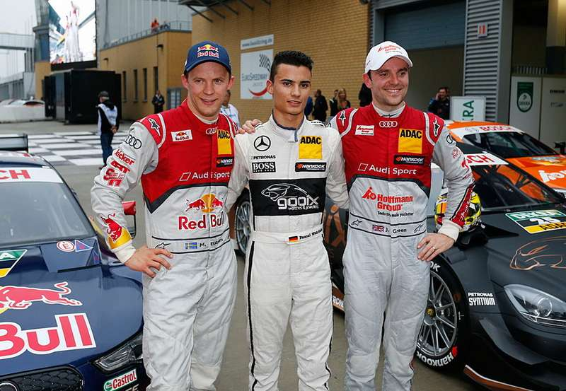 #25 Pascal Wehrlein (D, gooix Mercedes AMG, DTM Mercedes AMG C-Coupe)