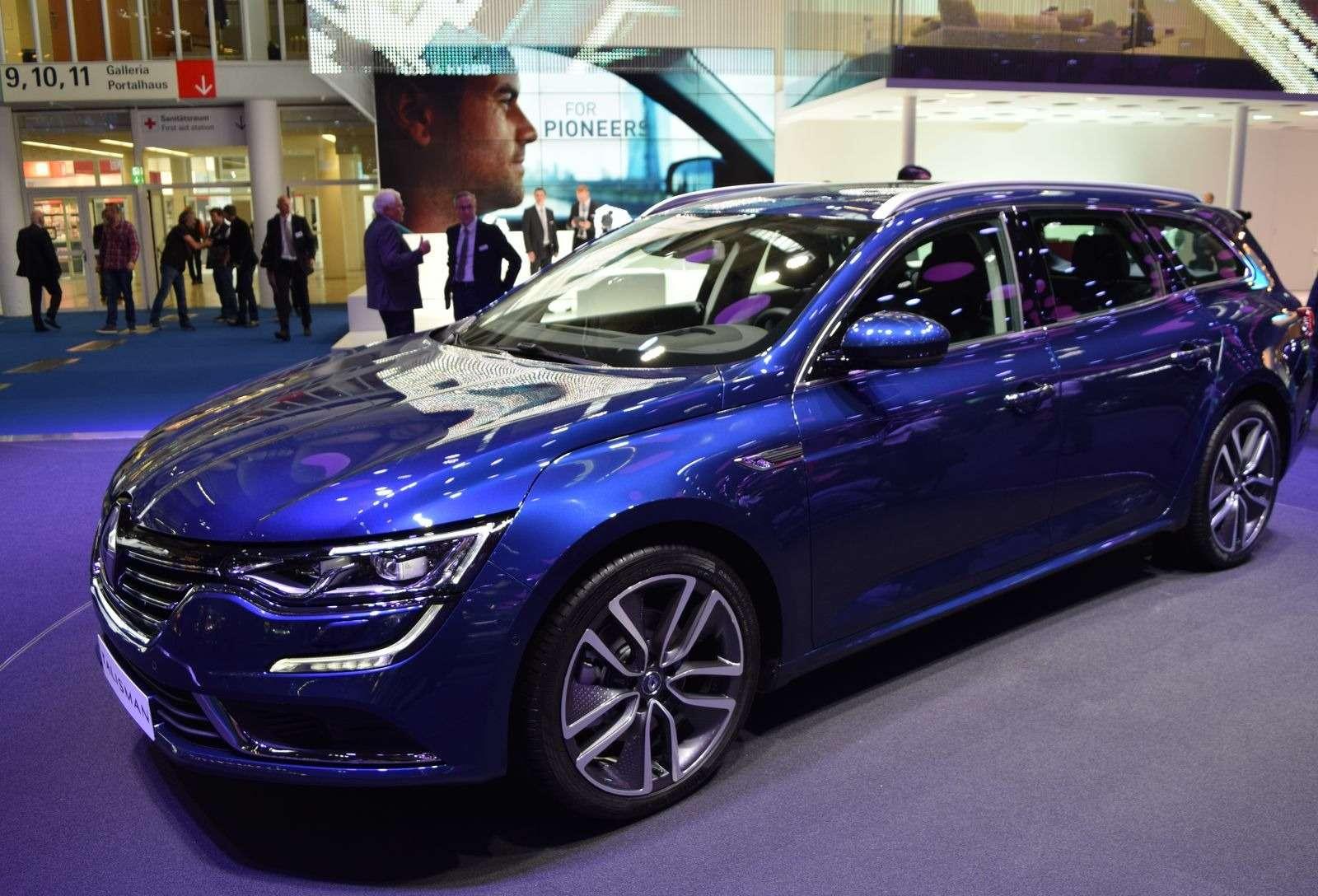 Renault Talisman заедет вавтопарк президента Франции— фото 390899
