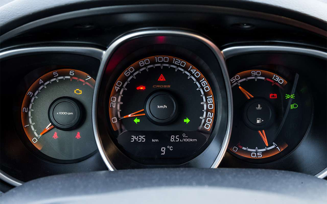 Lada Vesta SWиSWCross: доКрыма иобратно— фото 868866