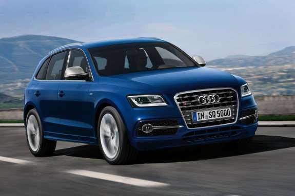 Audi SQ5 TDI side-front view