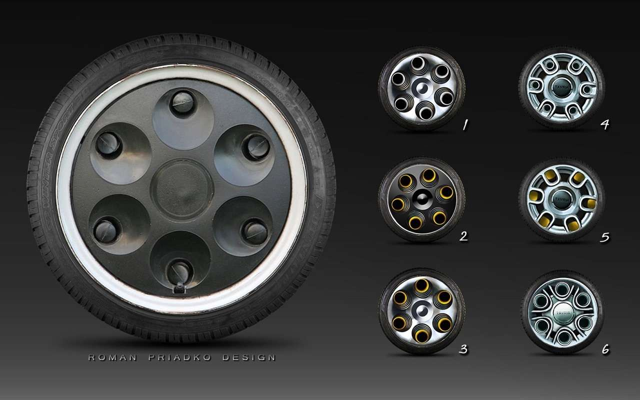 Представлен проект нового поколения ЗАЗ Таврия— фото 1259839