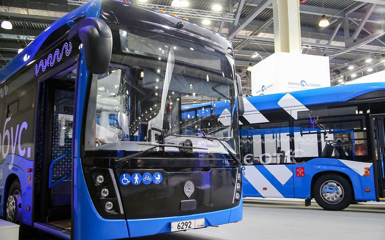 КАМАЗ-6292— лучший большой автобус 2021— фото 1276506
