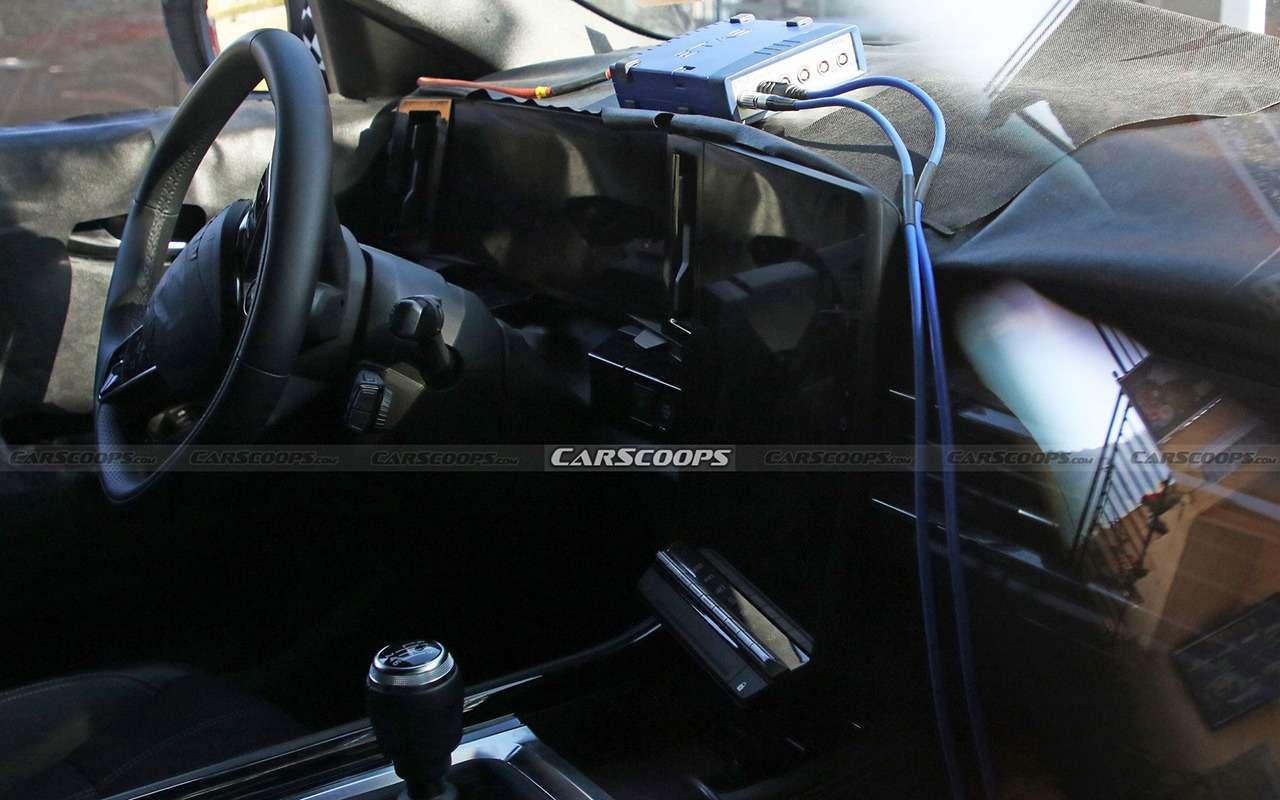 Обновленный Renault Kadjar: удалось заглянуть вего салон— фото 1284807