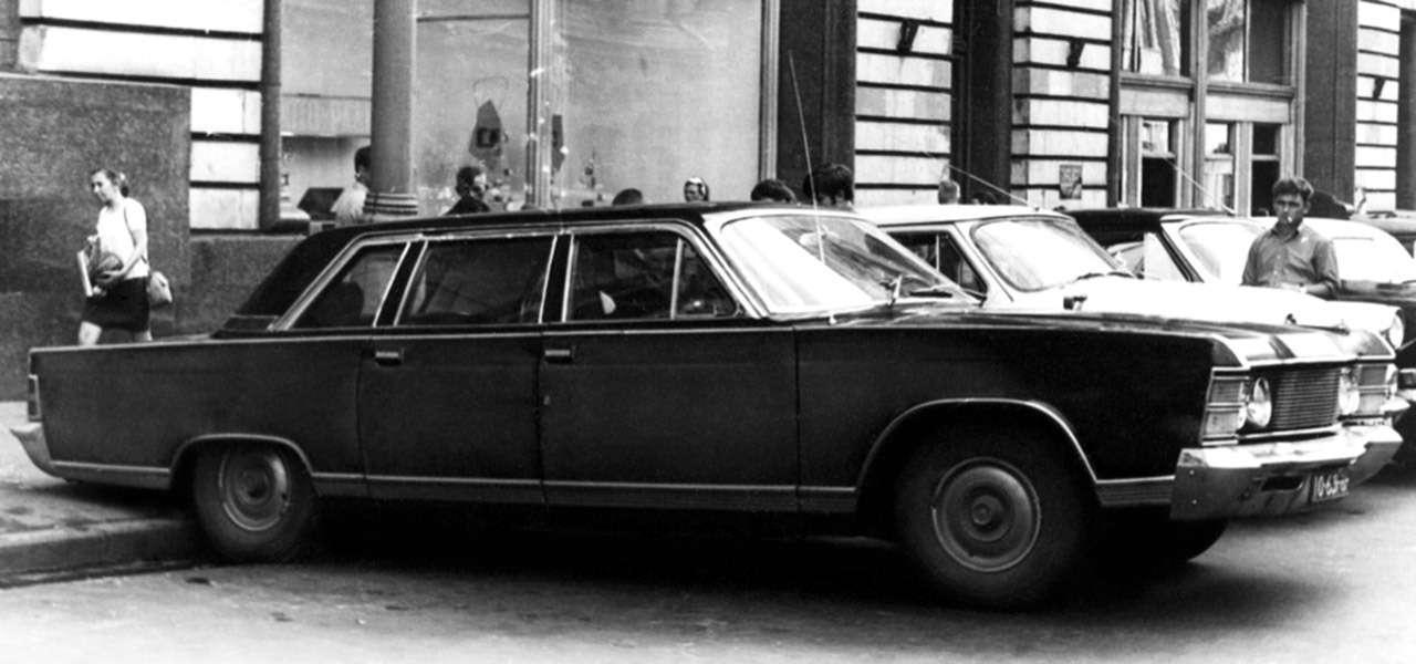 Чайка ГАЗ-14и ееамериканские «уши»— фото 1274126