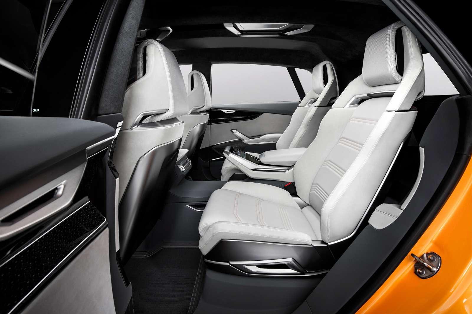 Концепт-тюнинг: Audi Q8приехал вЖеневу сэлектрическим наддувом— фото 717694