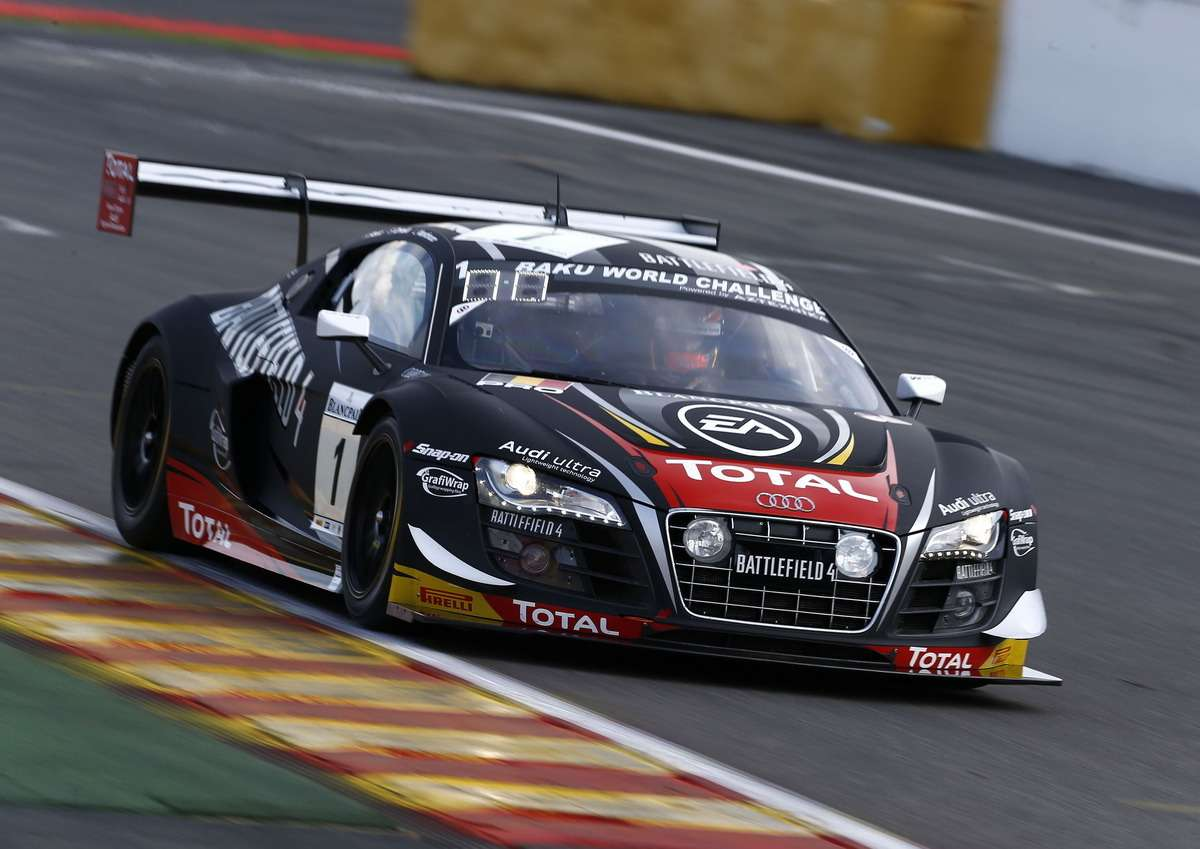 Bester Audi-Kunde inSpa auf Startplatz 20
