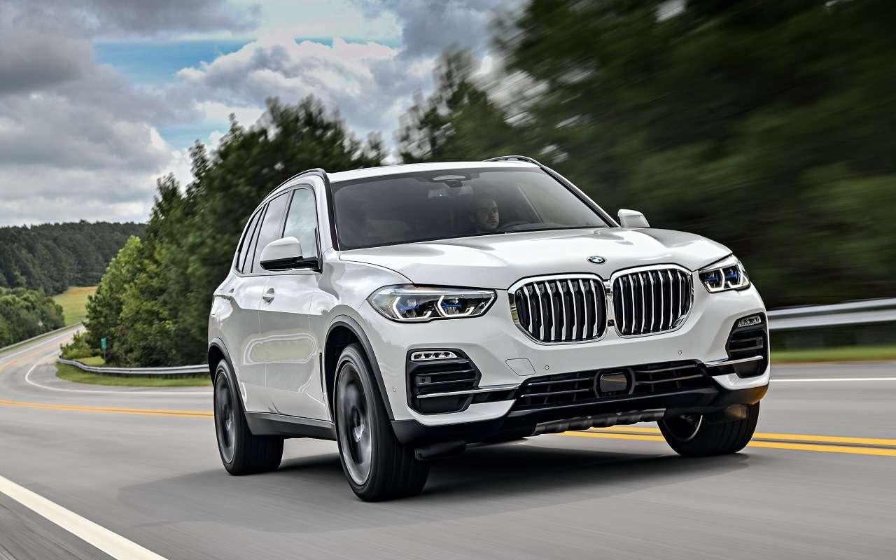 Потеря управления: вРоссии отзывают BMW X5и X6— фото 1222444