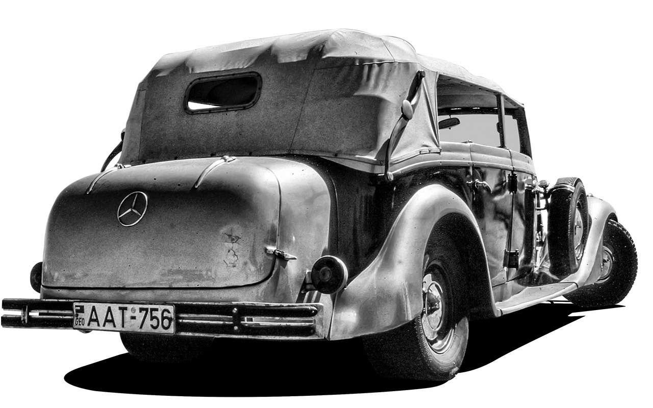 Очень редкий Мерседес W142— ретротест кабриолета-пенсионера— фото 950204