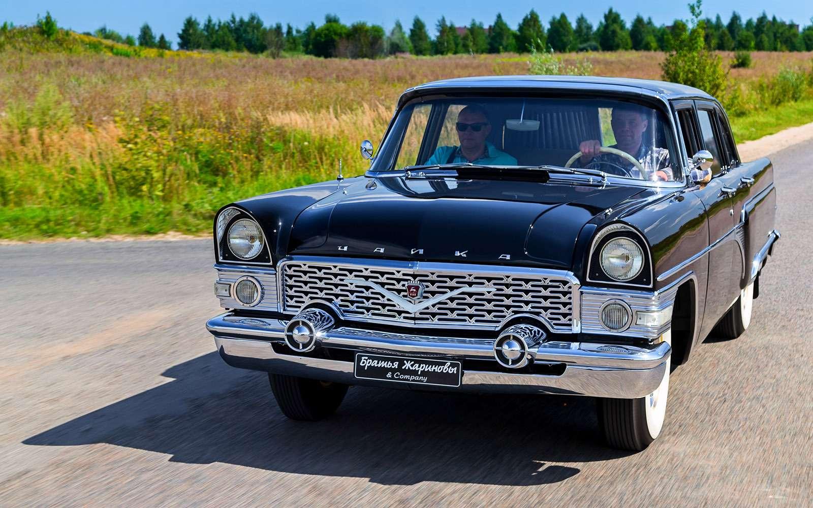Крылья Советов: догоняем Америку наЧайке ГАЗ-13— фото 692175