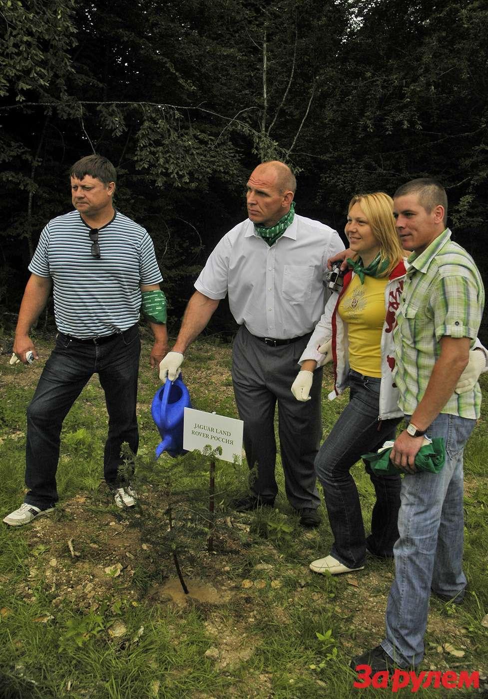 Светлана Гладышева, Юрий Захаревич, Алексей Мошкин иАлександр Карелин.