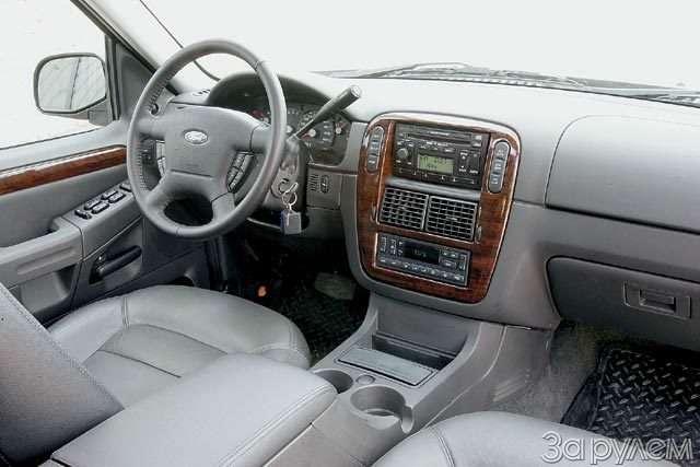 Тест Ford Explorer, Mitsubishi Pajero, Nissan Pathfinder. Ровесники века— фото 57037