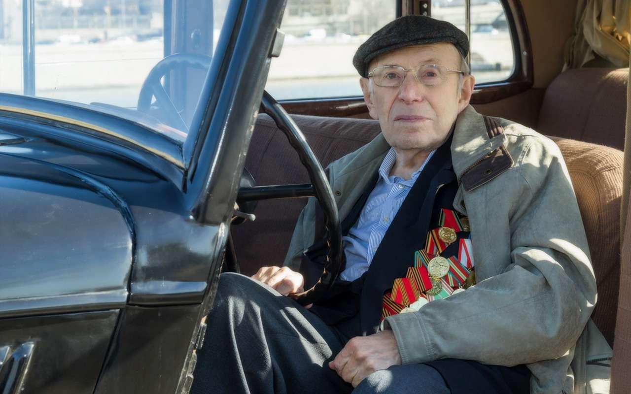 Взводный, выживший вконцлагере, защитник Москвы...— ветераны «Зарулем»— фото 973024