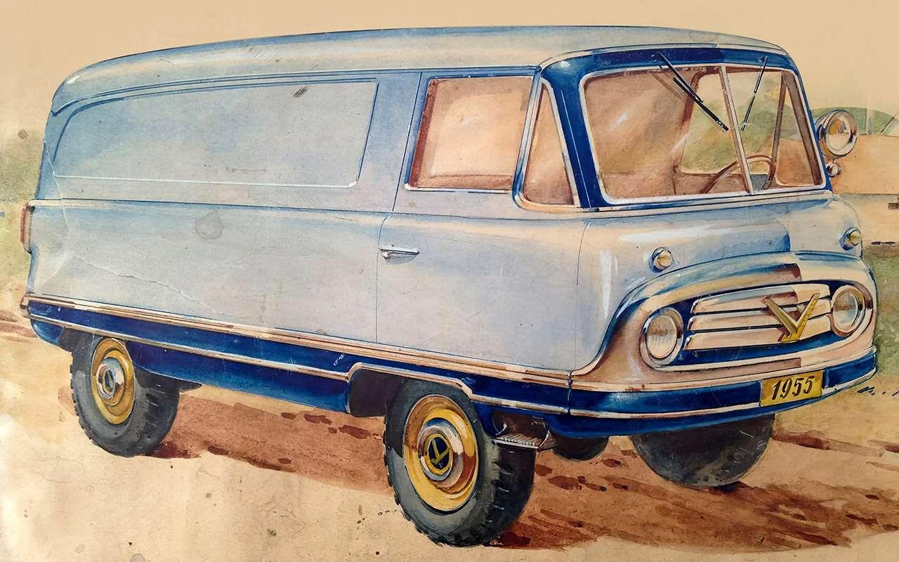 Вкус «буханки»: полная история УАЗ-450— фото 1269675