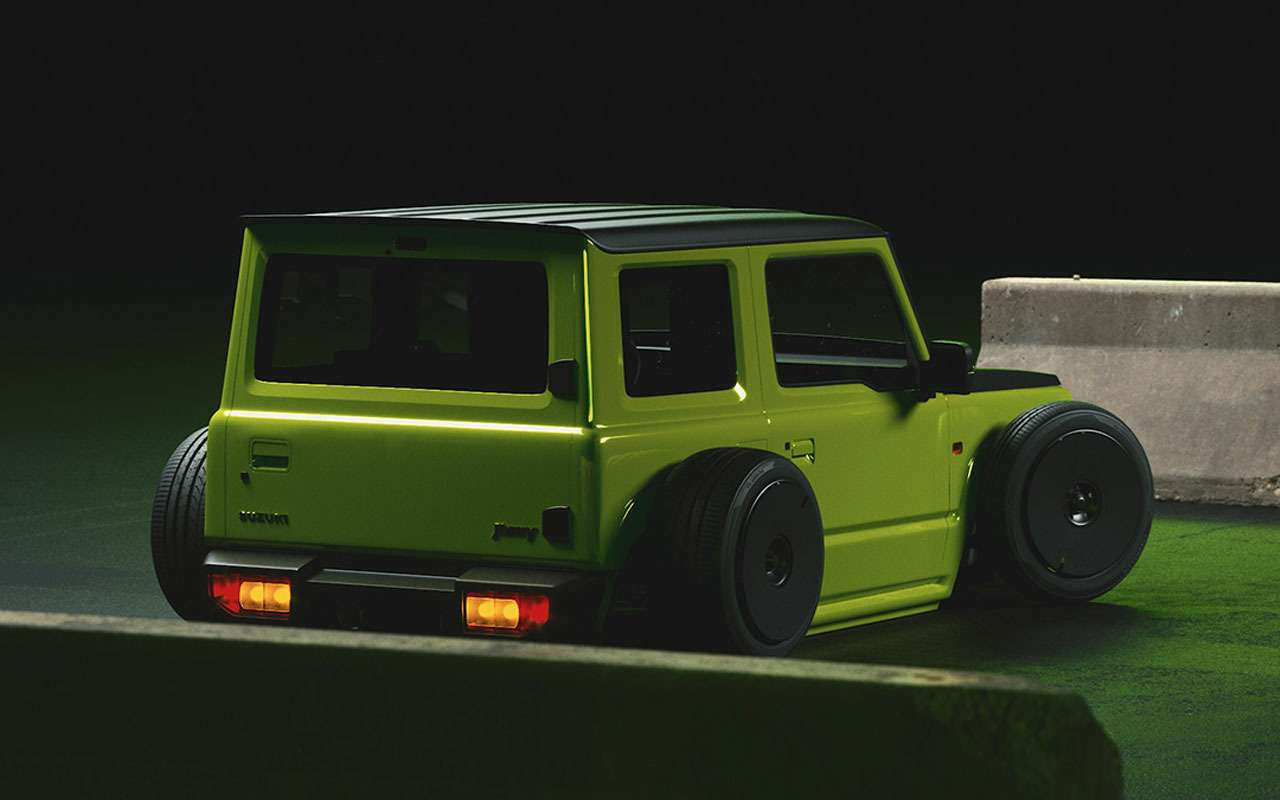 Самый низкий Suzuki Jimny— новая жертва тюнинга— фото 1157314