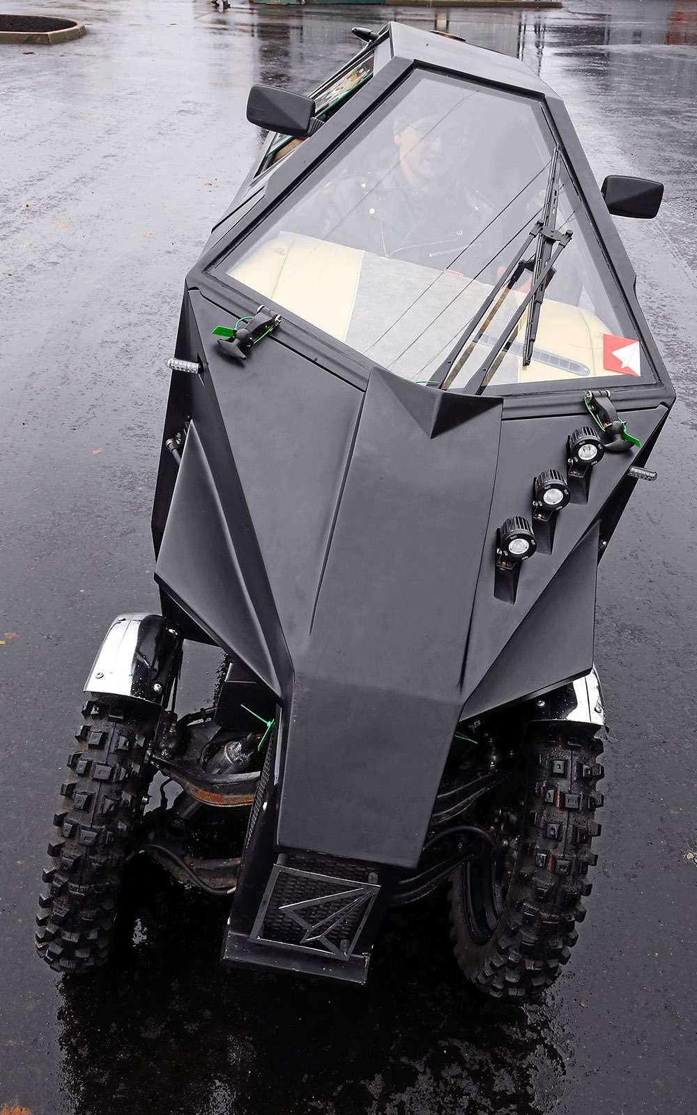 Трицикл МК-17: еще мотоцикл или уже автомобиль?— фото 680781