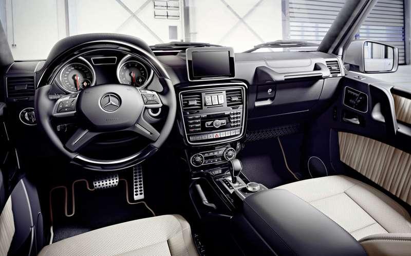 Mercedes-Benz отзывает Gelandewagen из-за проводки