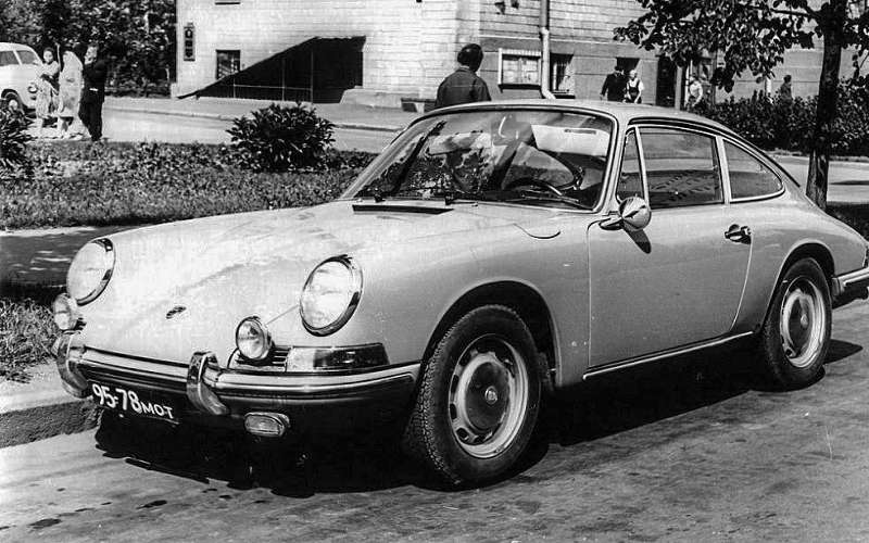 Porsche 911, принадлежавший Виктору Луи