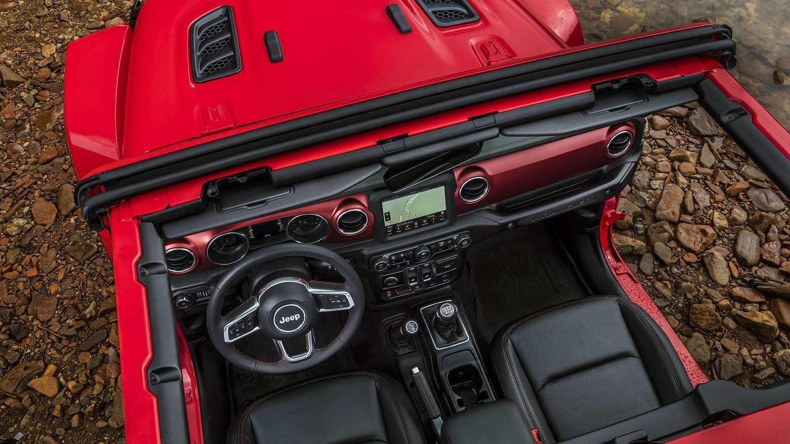 Новый Jeep Wrangler: найди десять отличий— фото 821259