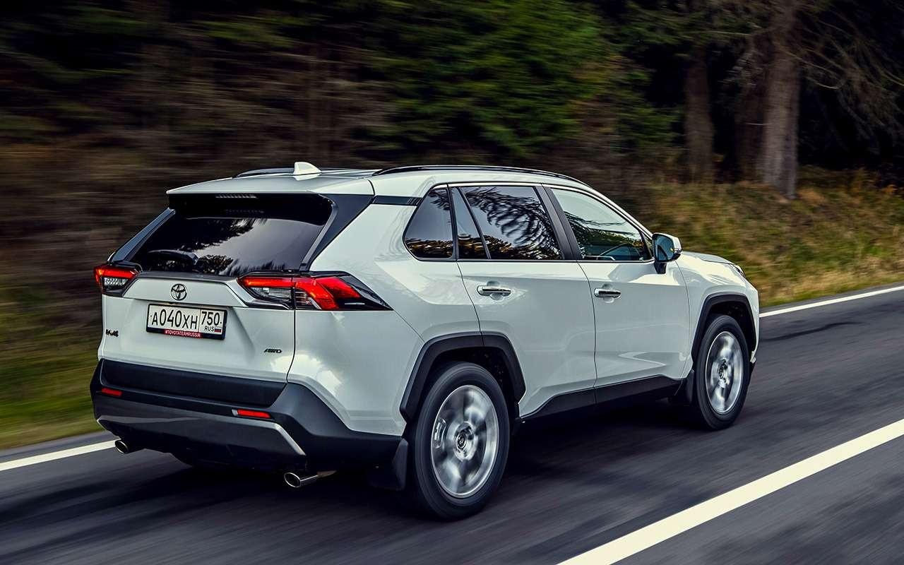 Новая Toyota RAV4: «Зарулем» проверил еезапределами асфальта— фото 1011258