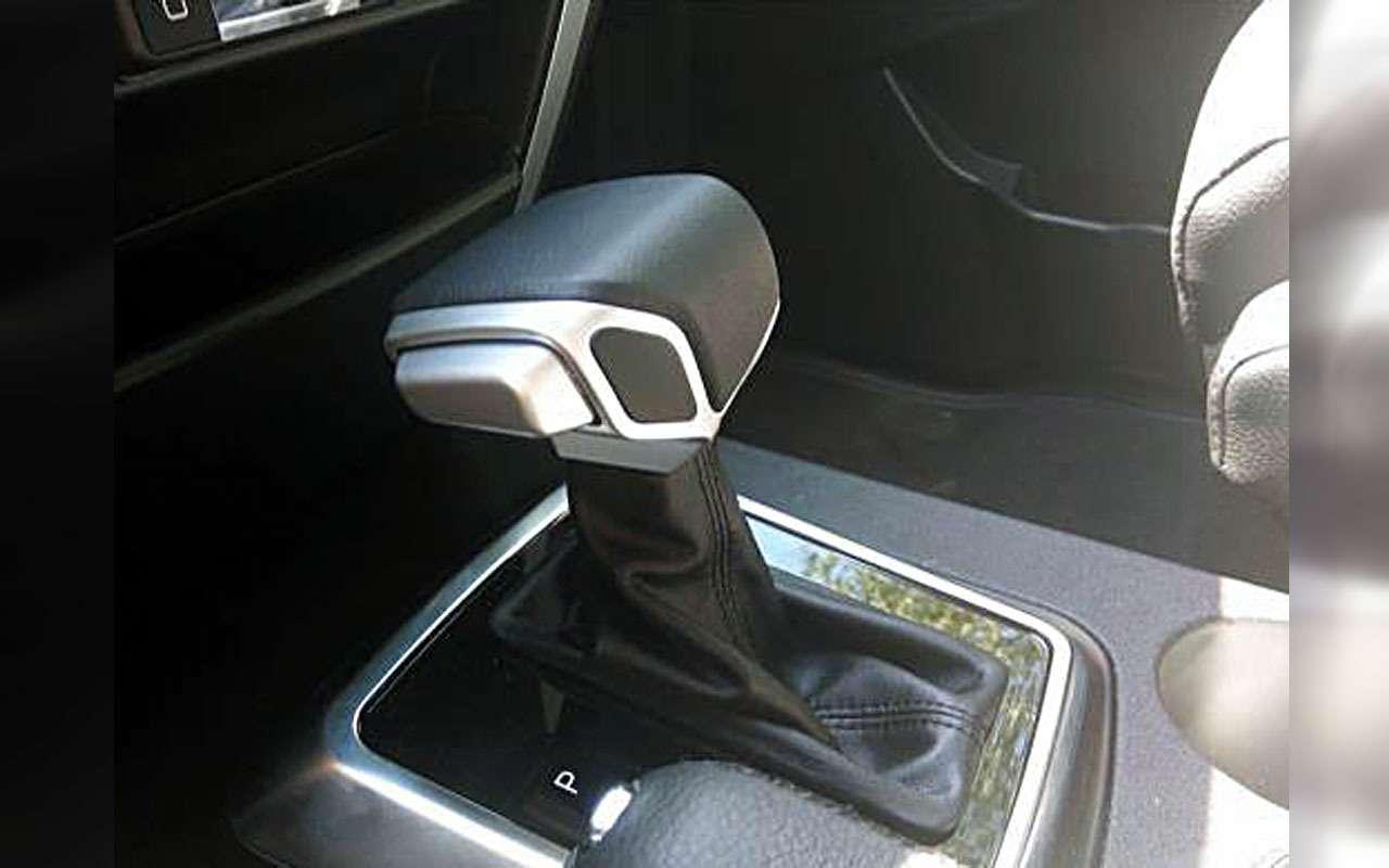 Фото Патриота савтоматической коробкой опубликовал дилер УАЗа— фото 983787