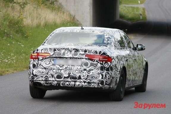 Audi A4rear view