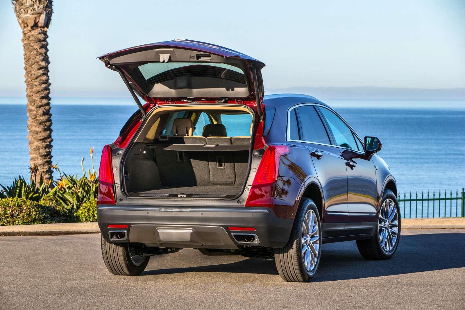 Багажник Cadillac XT5