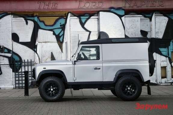 Land Rover Defender X-Tech side view