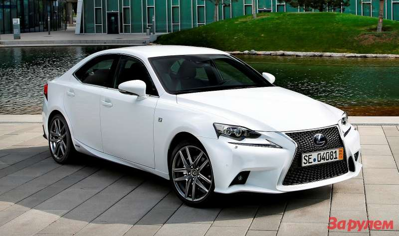 IS 300H F SPORT   STAT 07 DPL 2013