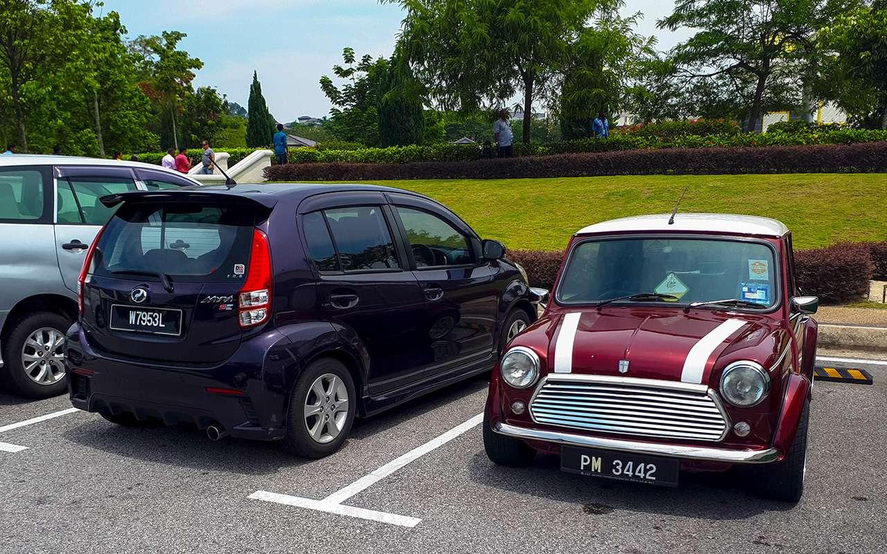 Какездят вАзии: странные машины, хорошие шины, низкие штрафы— фото 984007