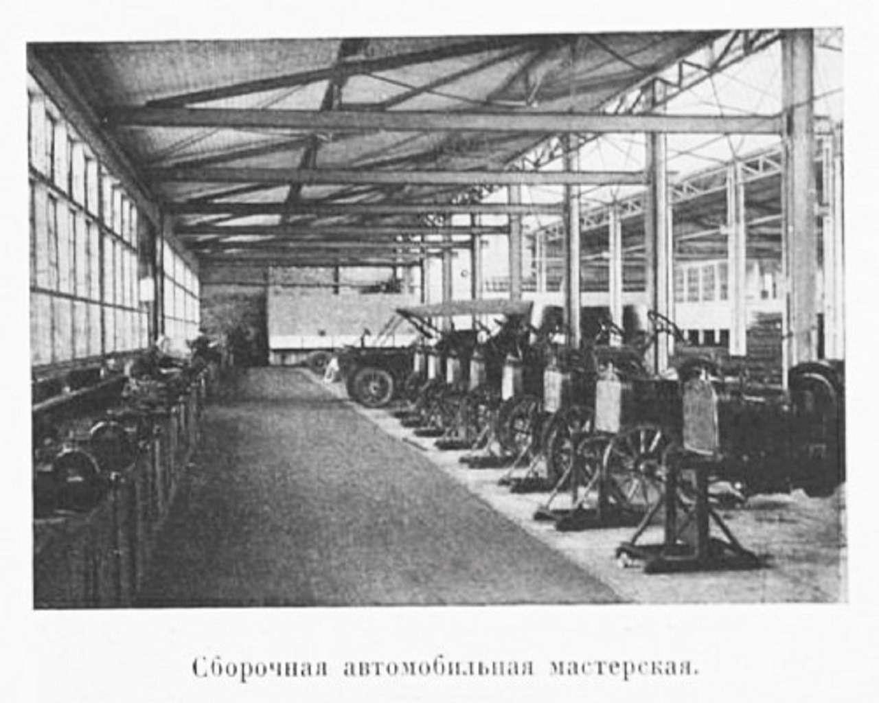 Рождение Руссо-Балта: как выглядел автозавод Российской Империи— фото 1225917